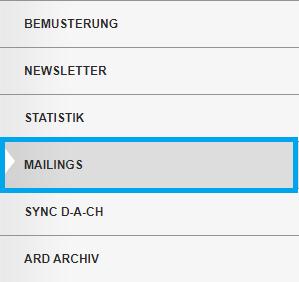 Mailings Menü
